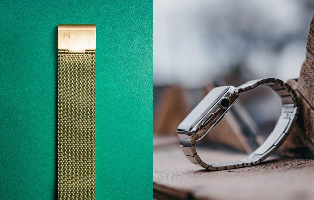 metalinė samsung smartwatch apyrankė